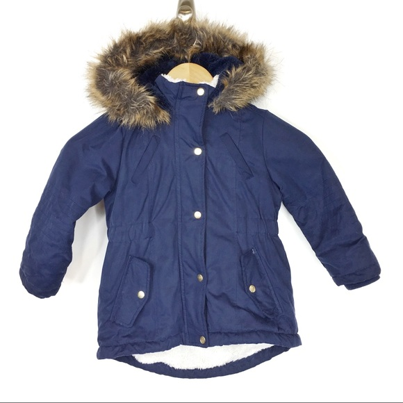 655e363545b36 Primark girls 3/4T hooded winter jacket. M_5c11a598aaa5b84875c88f57